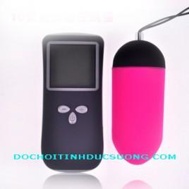 Đồ chơi tình dục - Trứng rung không dây Pinky LCD